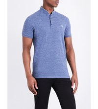 The Kooples Classic Fit Cotton Polo Shirt Blud9