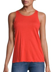 Frame Army Cotton Tank Top Tomato