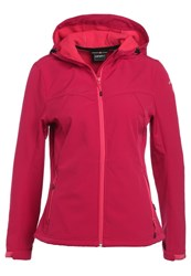 Icepeak Lucy Soft Shell Jacket Red Pink