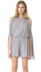 The Fifth Label From This Moment Romper Grey Marle