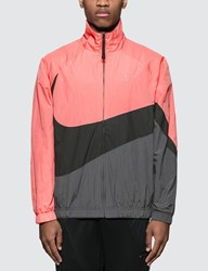 Nike Pink And Grey Woven Jacket