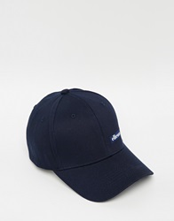 Ellesse Cap In Canvas Navy