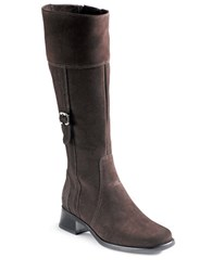La Canadienne Velvet Waterproof Riding Boots Brown