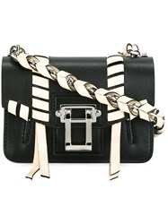 Proenza Schouler 'Hava' Whipstitch Crossbody Bag Black