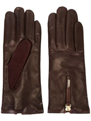 Want Les Essentiels De La Vie Zip Detail Gloves Red