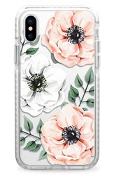 Casetify Watercolor Impact Iphone X Case Pink Pink And White