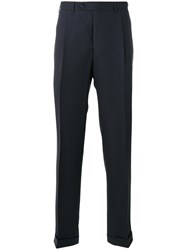 Canali Tailored Pants Blue