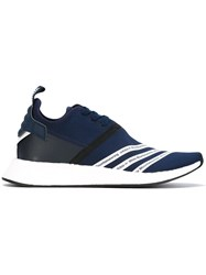 Adidas By White Mountaineering Sneakers Men Polyester Rubber 9 Blue