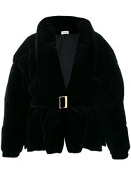 Alexandre Vauthier Padded Casual Coat Black