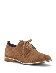 Ed Ellen Degeneres Larkin Perforated Lace Up Oxfords Brown