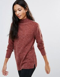 B.Young High Neck Jumper Tabasco Red