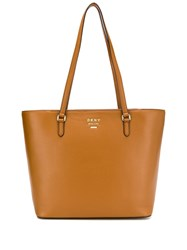 Dkny Large Whitney Tote Brown