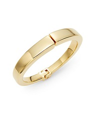 Vita Fede Square Edged Hinged Bracelet Gold