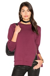 Candc California Courtney Pullover Wine
