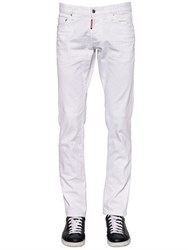 Dsquared 18Cm Slim Fit Stretch Denim Jeans