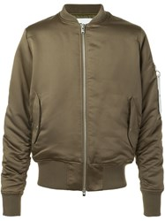 Stampd Classic Bomber Jacket Green
