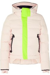 Templa Nano Hooded Quilted Shell Down Coat Blush