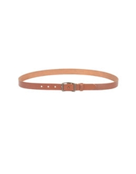 Levi's Made And Crafted Belts Brick Red