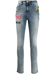 Versace Jeans Couture Barocco Detail Skinny Jeans 60