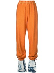 Y Project Layered Track Pants Orange
