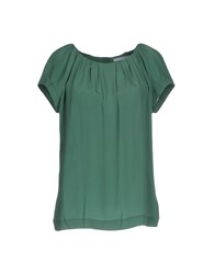 Strenesse Blue Blouses Green