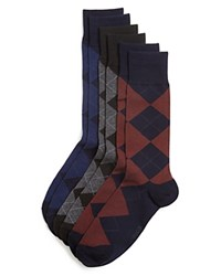 Ralph Lauren Argyle Dress Socks Pack Of 3