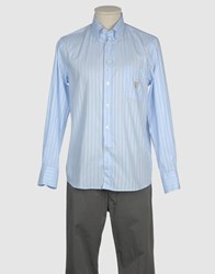 Armata Di Mare Shirts Long Sleeve Shirts Men Sky Blue