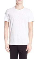 Men's Vince Slub Crewneck T Shirt Optic White