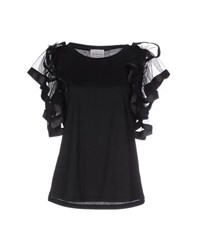 Edward Achour Topwear T Shirts Women Black