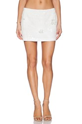 Pia Pauro Ladies Sequin Skirt White