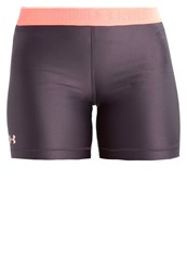 Under Armour Sports Shorts Charcoal London Orange Playful Peach Black