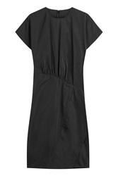 Jil Sander Tailored Dress With Silk Black