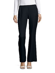 Elie Tahari Kiera Wide Leg Pull On Pants Navy