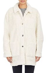 Opening Ceremony Sherpa Bern Coat Colorless