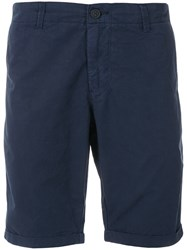 Woolrich Classic Chino Shorts Blue