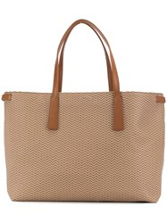 Zanellato Large Duo Tote Bag Brown