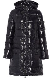 Duvetica Corcira Quilted Shell Down Coat Midnight Blue