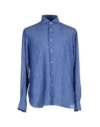 Orian Shirts Shirts Men Azure