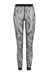 Missoni Printed Wool Blend Leggings Black