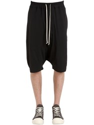 Rick Owens Drkshdw Cotton Jersey Shorts