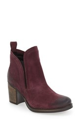 Bos. And Co. Women's 'Belfield' Waterproof Chelsea Boot Plum Oil Suede