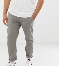 Blend Of America Plus Slim Fit Chino In Grey Green