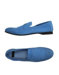Raparo Footwear Moccasins Men Sky Blue