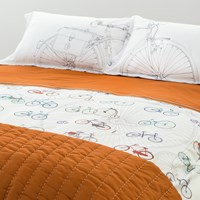 Trussardi Velodromo Duvet Cover Set White King