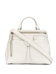 Tod's Joy Tote Bag White