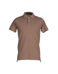 Private Lives Topwear Polo Shirts Men Khaki