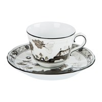 Richard Ginori 1735 Oriente Italiano Albus Coffee Cup And Saucer