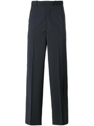 Diesel Black Gold Tailored Wide Leg Trousers Black
