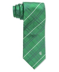Eagles Wings Michigan State Spartans Oxford Tie Green