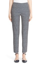 Lafayette 148 New York Petite Women's 'Stanton' Slim Leg Crop Pants Ink Multi
